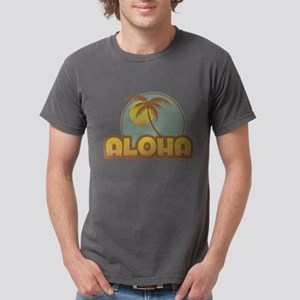 Aloha Palm Mens Comfort Colors Shirt T-Shirt