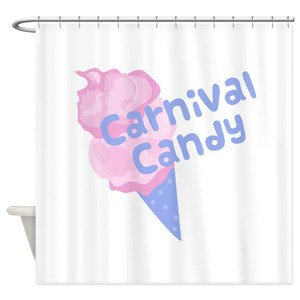 Cotton Candy Shower Curtains
