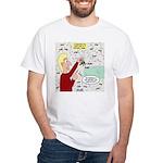 Football Lost Keys White T-Shirt