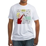 Football Lost Keys Fitted T-Shirt
