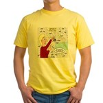 Football Lost Keys Yellow T-Shirt