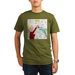 Football Lost Keys Organic Men's T-Shirt (dark)