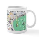 Football Lost Keys Mug