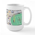 Football Lost Keys Large Mug