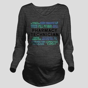 Pharmacy Technician Word Cloud T-Shirt
