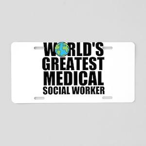 World's Greatest Medical Social Worker Aluminu