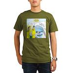 Firefighter Fund Rais Organic Men's T-Shirt (dark)