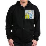 Firefighter Fund Raiser Zip Hoodie (dark)