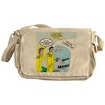 Firefighter Fund Raiser Messenger Bag