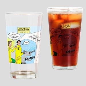 Firefighter Fund Raiser Drinking Glass