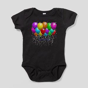 Get Well Balloons Baby Bodysuit