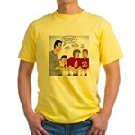 Loser Lessons Learned Yellow T-Shirt
