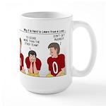 Loser Lessons Learned Large Mug
