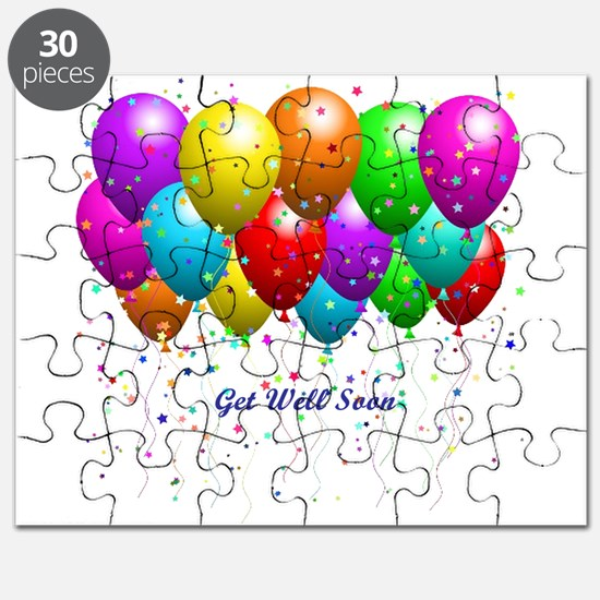 Get Well Balloons Puzzle