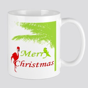 Tropical Christmas Mugs