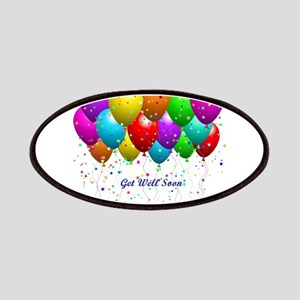 Get Well Balloons Patches