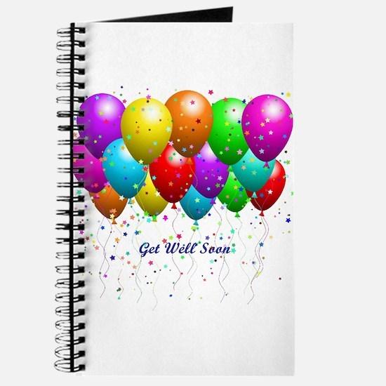 Get Well Balloons Journal