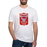 USS BORDELON Fitted T-Shirt