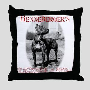 American Pitbull Terrier Throw Pillow