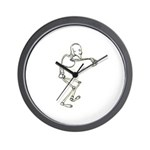 Dancing Skeleton Wall Clock