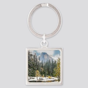 Half Dome and the Merced River After a S Keychains