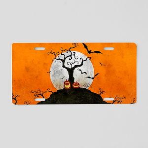 Spook Shift Aluminum License Plate