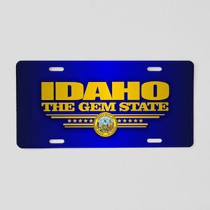 Idaho Flag Aluminum License Plate