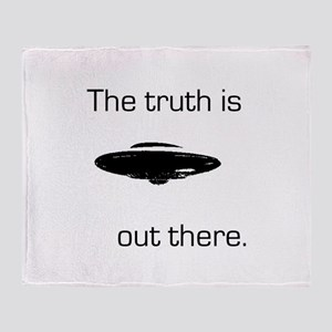 03052012-truth_out Throw Blanket