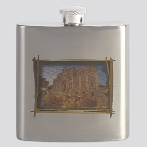 The Trevi Fountaine Flask