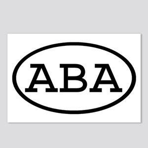 ABA Oval Postcards (Package of 8)