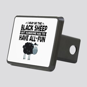 Black Sheep Rectangular Hitch Cover