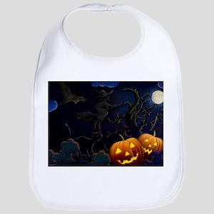 Halloween Spooks Bib
