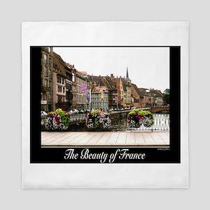 Strasbourg, France Queen Duvet