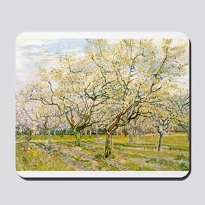 Van Gogh The White Orchard Mousepad