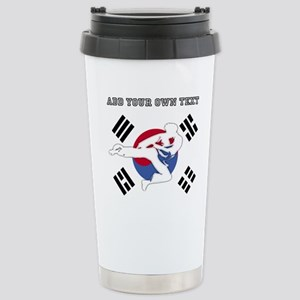 Taekwondo 16 oz Stainless Steel Travel Mug