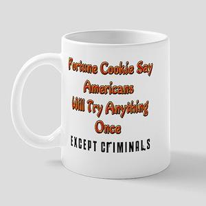 Amerians Try Everything Once, Mug