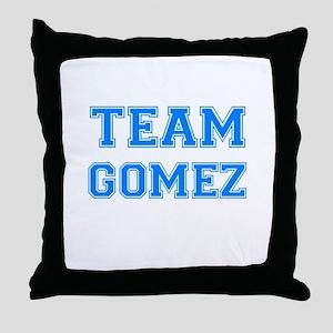TEAM GOMEZ Throw Pillow
