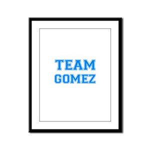 TEAM GOMEZ Framed Panel Print