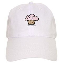 i love cupcakes Baseball Cap