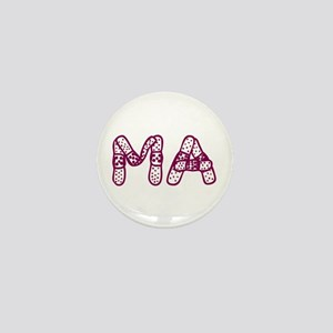 MA (Bandage logo) Mini Button