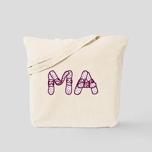 MA (Bandage logo) Tote Bag