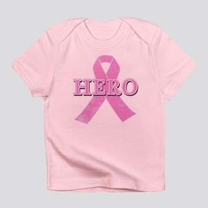 HERO with Pink Ribbon Infant T-Shirt