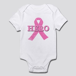 HERO with Pink Ribbon Infant Bodysuit