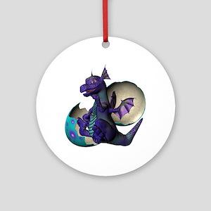 Little Dragon Ornament (Round)