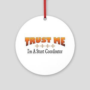 Trust Stunt Coordinator Ornament (Round)