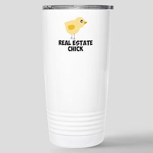 Real Estate Chick Travel Mug