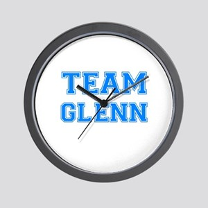 TEAM GLENN Wall Clock