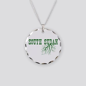 South Sudan Roots Necklace Circle Charm