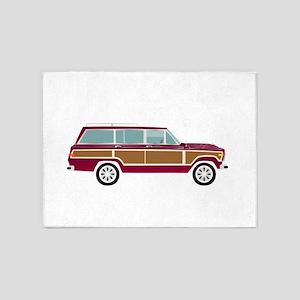 Weekend Wagon 5'x7'Area Rug