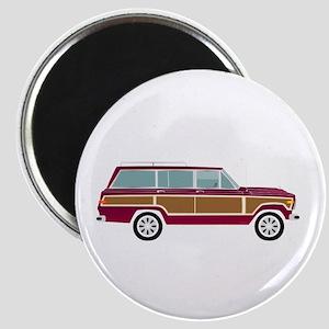 Weekend Wagon Magnet